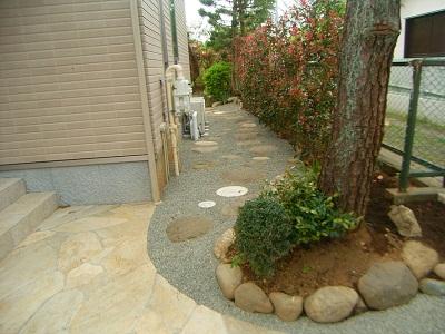 松ヶ丘の庭 造園工事