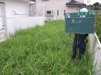 鎌倉市寺分の庭