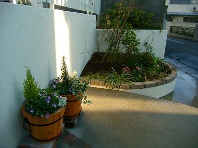 金沢区六浦の庭